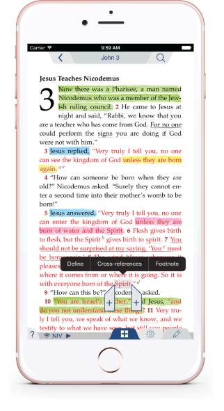Tecarta bible apps an easy to use full featured bible app designed for quick navigation easy note taking and powerful bible study fandeluxe Image collections